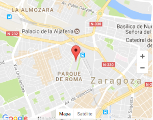Ubicación COAC Zaragoza